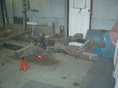 stripped chassis
